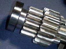 画像3: カブ90ケース用 強化ラー ※コレでモンキーキャブ車用4速が組付け可能に!  (3)