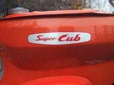画像2: 【ホンダ純正】 Super Cubアルミステッカー(1) (2)