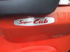 画像1: 【ホンダ純正】 Super Cubアルミステッカー(1) (1)