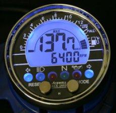 画像5: 多機能デジタルメーター (ガソリンメーター付)  (5)