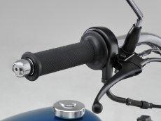 画像2: レトロハイスロキット※ビックキャブ対応・ドラムブレーキ用・ブラック  (2)
