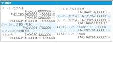 画像2: ドリブンスプロケット[35丁〜44丁] 2011年以前のスーパーカブ50/70/90及びリトルカブ全年式等  (2)
