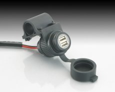 画像1: USB電源 ※2ポート・ハンドルクランプステー付 (1)