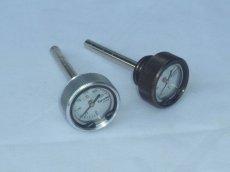 画像2: ディップスティック油温計[ブロンズ・シルバー]  (2)