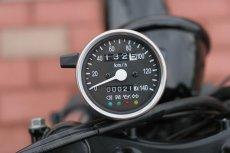 画像3: インジゲーターランプ付スピードメーター [φ60・機械式]ブラックパネル  (3)