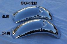 画像2: 【ホンダ純正】 5Lモンキー・ゴリラ用フロントフェンダー・スチール製  (2)
