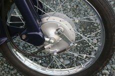 画像4: 【ホンダ純正流用ブレーキ強化】 スーパーカブ 大径ドラムブレーキセット(通称デカドラム)  (4)