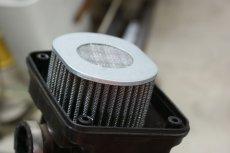 画像11: カブ用PC20フルセット(キャブレター装着キット)  (11)