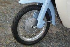 画像3: 【ホンダ純正流用ブレーキ強化】 14インチ車向け大径ドラムブレーキ(通称デカドラム)組付  (3)