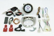 画像8: カブ用LCDスピード&タコメーター  (8)