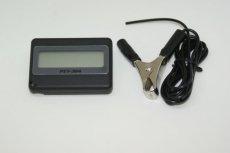 画像1: デジタルタコメーター (PET-304) 難しい配線一切不要!:6v&12V使用可 セッティング・レースなどにも最適!  (1)