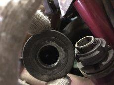 画像6: Z50A分離式フロントフォーク用 ステムナット&トップスレッド  (6)