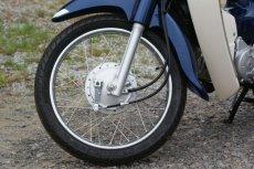 画像3: 【ホンダ純正流用ブレーキ強化】 スーパーカブ用フロントブレーキ大径ドラムキット(通称デカドラム)  (3)