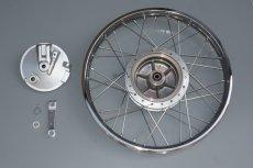 画像1: 【ホンダ純正流用ブレーキ強化】 スーパーカブ用フロントブレーキ大径ドラムキット(通称デカドラム)  (1)