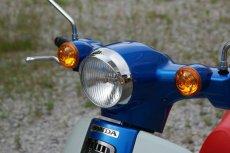 画像4: ミニバイザー付ヘッドライトリム [2018年以降のカブ110/50全車に適合]  (4)