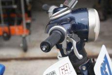 画像7: 丸目カブ用ハンドルアダプターパイプ 2011年以前の丸目カブに内径φ22.2の一般的なスイッチやグリップが使用可能に!  (7)