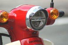 画像7: バイザー付ヘッドライトリム(ヘッドライトウイングキャップカバー)  (7)