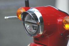 画像4: バイザー付ヘッドライトリム(ヘッドライトウイングキャップカバー)  (4)