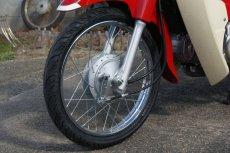 画像5: 【ホンダ純正流用ブレーキ強化】 スーパーカブ用フロントブレーキ大径ドラムキット(通称デカドラム)  (5)