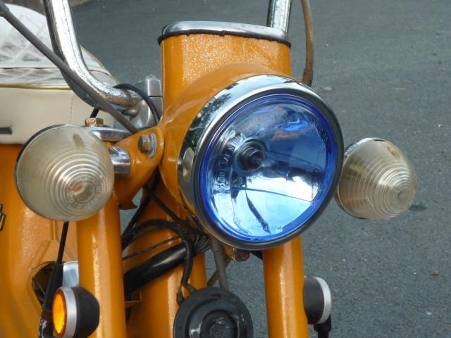 画像1: ダックス・シャリィ用 マルチリフレクターヘッドライト  (1)