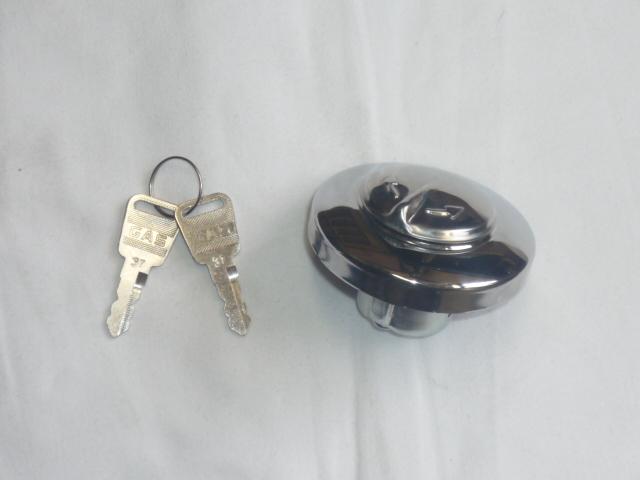 画像1: キー付タンクキャップ タイプH  (1)