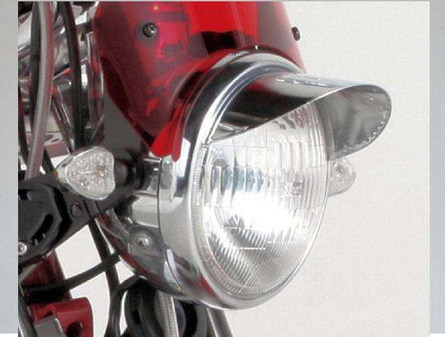 画像1: ヘッドライトバイザー(7cm)通称 ピヨピヨ  (1)