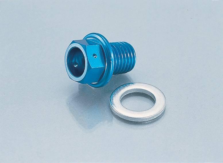 画像1: 超軽量アルミドレンボルト[M12x1.5P]マグネット付  (1)