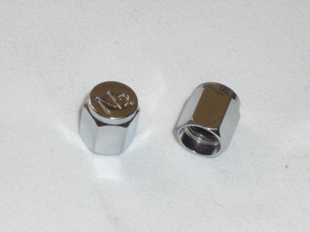 画像1: N2バルブキャップ&窒素ガス(N2)充填サービス  (1)