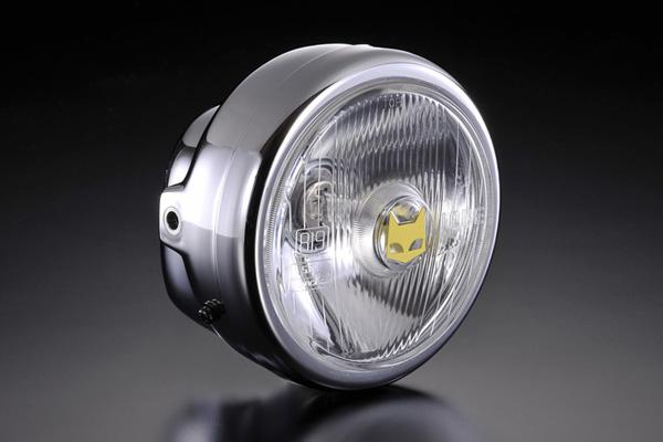 画像1: 【マーシャル】汎用ヘッドライト130mm  (1)