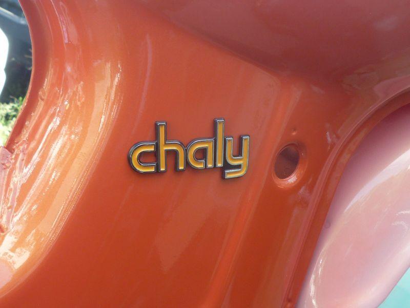 画像1: 【ホンダ純正】 シャリィ用「chaly」エンブレム  (1)