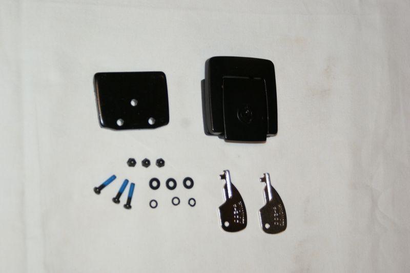 画像1: 【ホンダ純正】 純正ラゲージボックス用ロックセット 大中小各ラゲージボックスにも使用可  (1)
