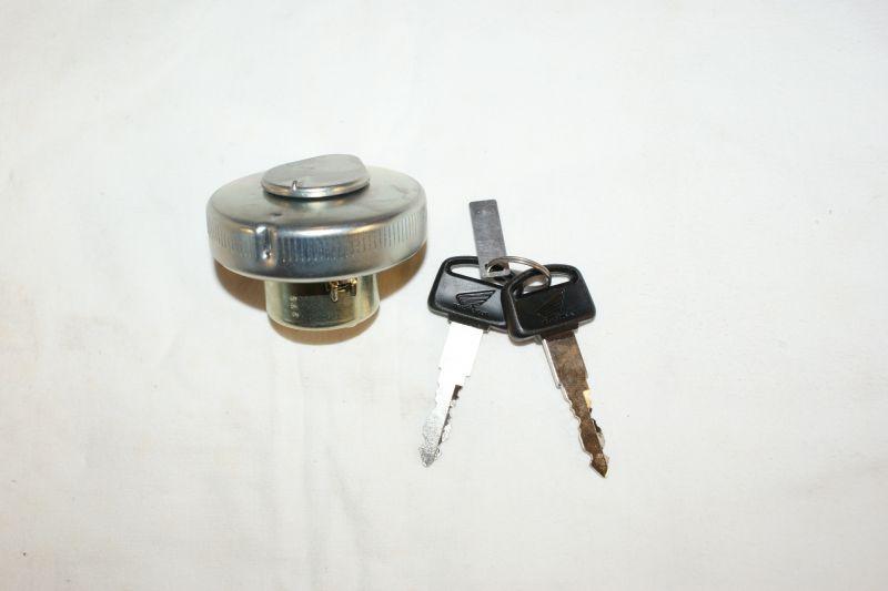 画像1: 【ホンダ純正】  キー付きタンクキャップ [タイプK]  (1)