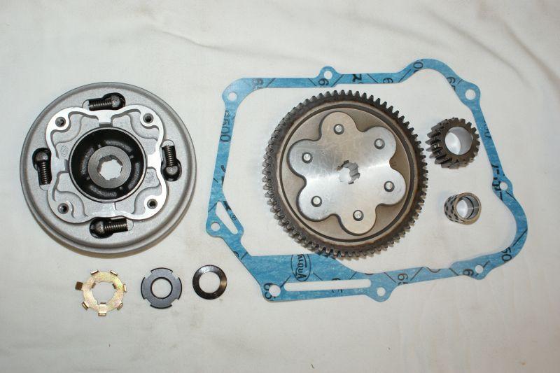 画像1: 3ディスクドライブユニット(強化マニュアルクラッチ・ハイギヤ付き)  (1)