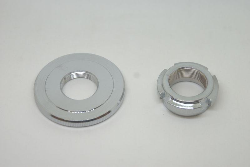 画像1: Z50A分離式フロントフォーク用 ステムナット&トップスレッド  (1)