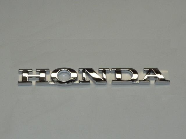 画像1: 【ホンダ純正】 立体「HONDA」 メッキエンブレム (1)