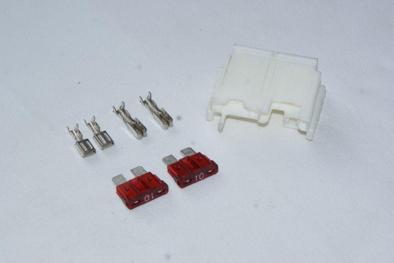 画像1: 12v小型バッテリーYTR4A-BS用カプラーキット 6v⇒12vバッテリー搭載時に  (1)