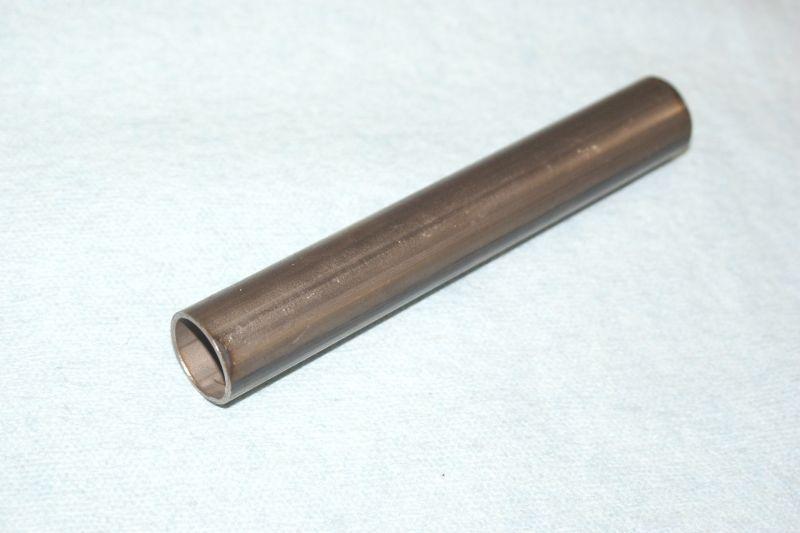 画像1: 丸目カブ用ハンドルアダプターパイプ 2011年以前の丸目カブに内径φ22.2の一般的なスイッチやグリップが使用可能に!  (1)