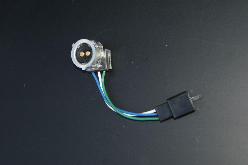 画像1: 【ホンダ純正】 ヘッドライト用ソケット+ハーネス[3Pコネクタータイプ]  (1)