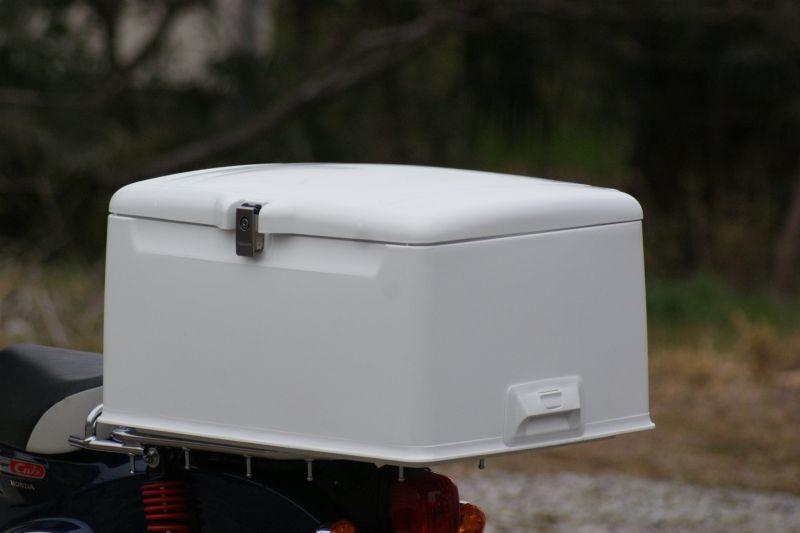 画像1: 集配用大型キャリーボックス[白]  (1)